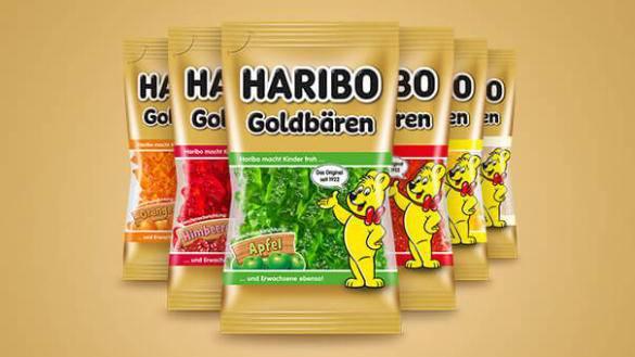 Haribo-Packungen