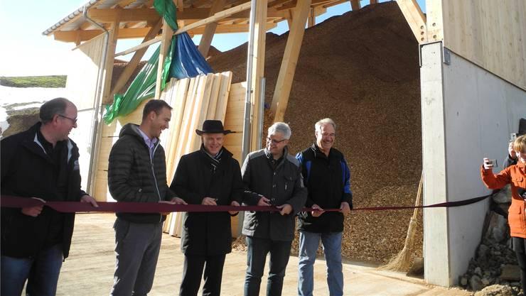 Von links: F. Niederberger, T. Umiker, S. Wyniger, U. Hoffmann, W. Niederberger