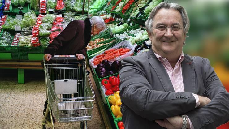 Entspannt alleine shoppen: Das soll für über 65-Jährige möglich werden, sagt Immunologe Beda Stadler.