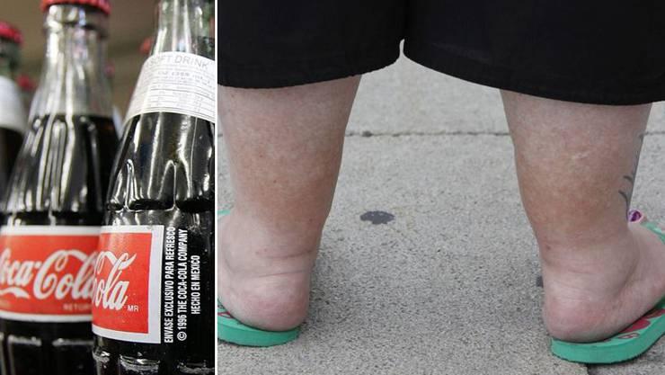 US-Getränkebranche will fettleibigen Menschen helfen (Symbolbild)