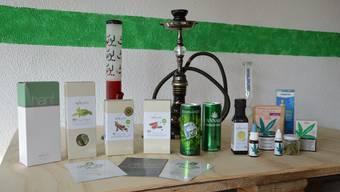 Das Geschäft in Rheinfelden verkauf gesetzeskonforme Cannabis-Produkte und Hanfrohstoffe. (Symbolbild)