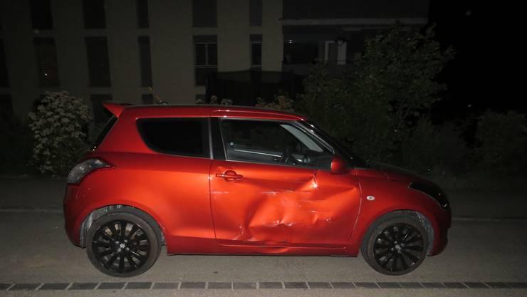 Es blieb bei einem Blechschaden – wie es genau zum Unfall kam, ist aber ungeklärt.