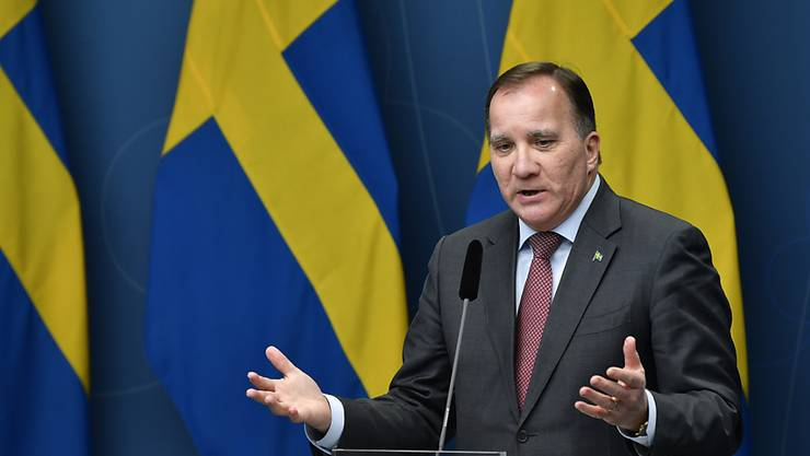 Schweden verlässt mit strikteren Massnahmen zur Eindämmung des Coronavirus seinen Sonderweg. Im Bild der schwedische Premierminister Stefan Lofven. (Archivbild)