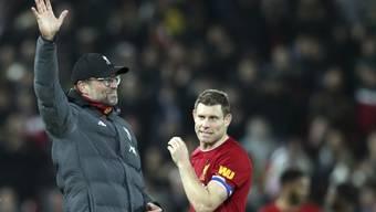 Jürgen Klopp und Liverpool ringen im Ligacup Arsenal im Penaltyschiessen nieder