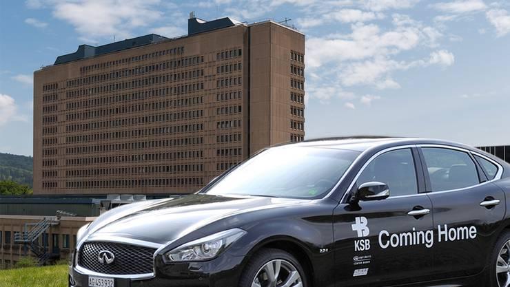 Stets einsatzbereit: Das KSB bringt privatversicherte Patienten künftig mit einer Limousine nach Hause.