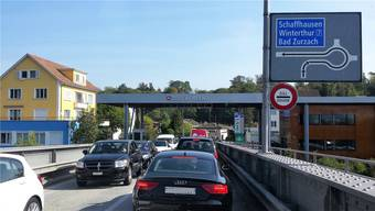 Mit der Grenzschliessung hat sich die Stausituation in Koblenz massiv verschlimmert.