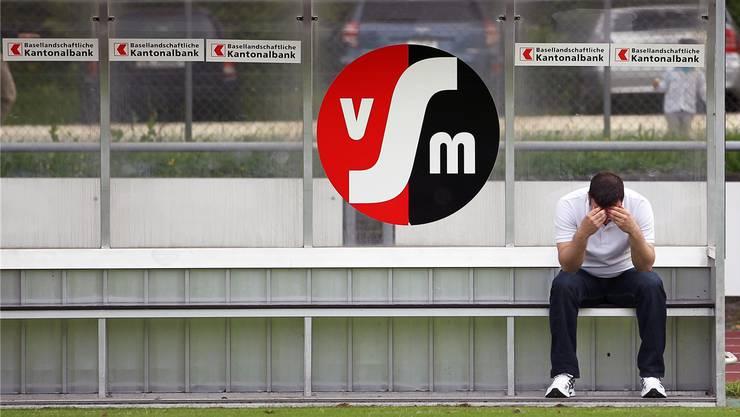 Enttäuscht: Der scheidende Muttenz-Trainer Atilla Sahin bleibt ratlos zurück.