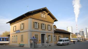 Der Bahnhof Siggenthal-Würenlingen erhält einen neuen Anstrich