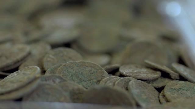 Sensationeller Münzenfund bei der Kirschernte