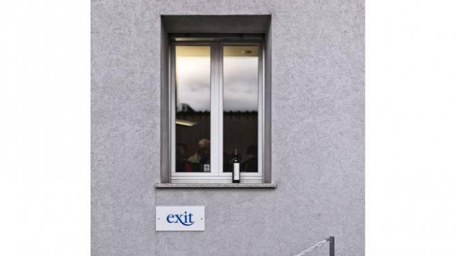 Exit baut das Büro an der Hauptstrasse 24 in Binningen nach einem Jahr aus. Foto: Roland Schmid