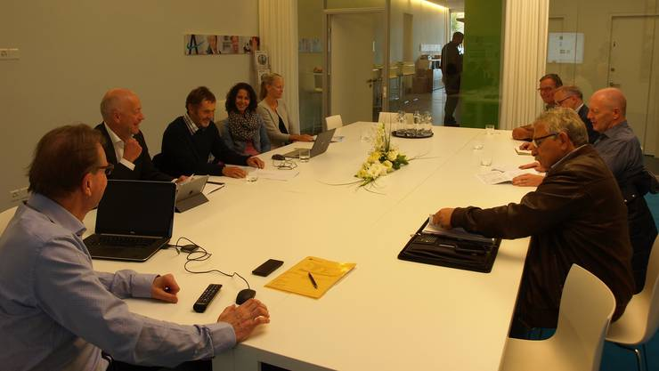 Der AareLandRat nutzte die Gunst der Stunde: Er gehörte gestern zu den ersten Nutzern des Coworking Space des Berufsverbandes Angestellte Schweiz.