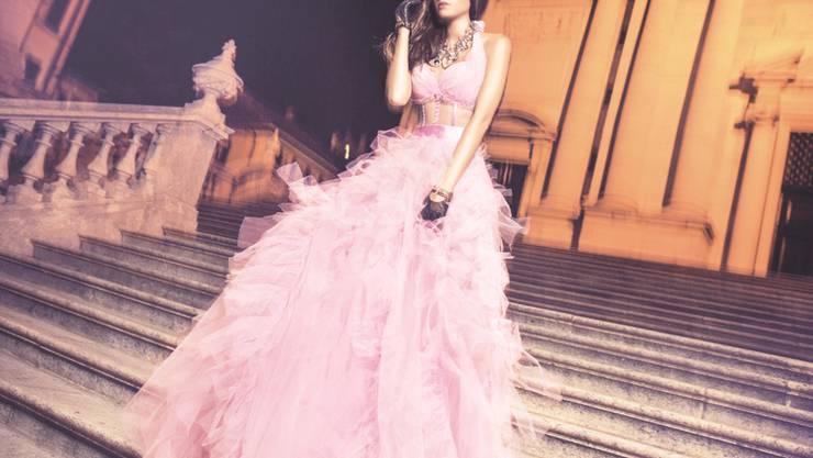«Pretty in Pink»-Fotos thematisieren Brustkrebs einmal anders.