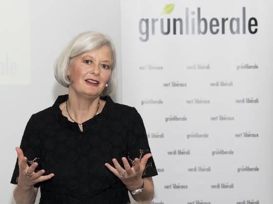 Doris Aebi geht für die Grünliberalen ins Regierungsratsrennen.
