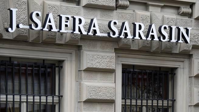 Die Filiale der Bank J.Safra Sarasin am Paradeplatz in Zürich. (Symbolbild)