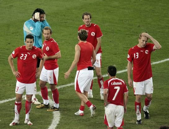 Die Schweiz ist ausgeschieden. Ohne ein einziges Gegentor. Die Erinnerungen an die WM 2006 und den Spielort des Achtelfinals, Köln, werden nie verblassen.