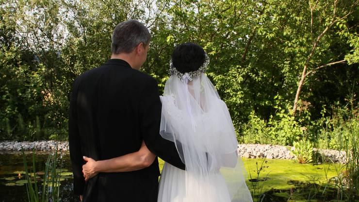 Die Hochzeit 2018: Kilian und Natascha Karrer.