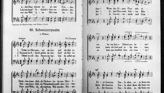 Der Schweizerpsalm vom Urner Alberik Zwyssig aus dem Jahr 1841