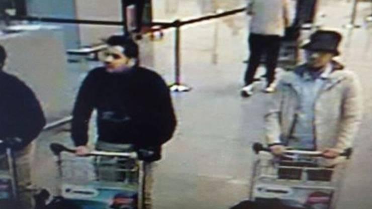 """Der """"Mann mit Hut"""" Mohamed Abrini ist gefasst. (Archiv)"""
