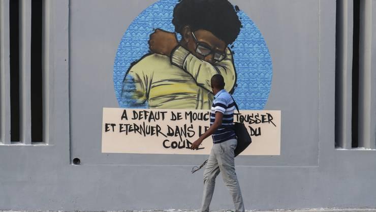 So niest man richtig! Die Botschaft des Künstlerkollektivs RBS Crew collective in Dakar Senegal ist klar.