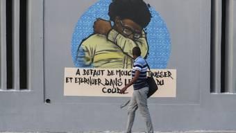 Street Art: Das Coronavirus  infiziert die Strassen weltweit mit Kunst