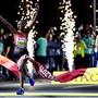 Ruth Chepngetich aus Kenia hielt die Hitze aus und gewann den Frauenmarathon in Doha.