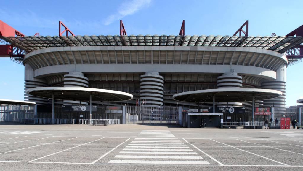 Das Giuseppe-Meazza-Stadion in Mailand ist derzeit kein gastlicher Ort.