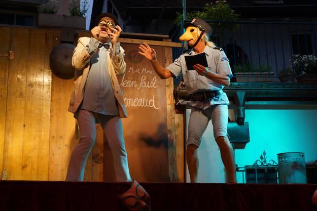Das Maskentheater Paella Komplott ist eine Hommage an die italienische Commedia dell'arte (ub)3