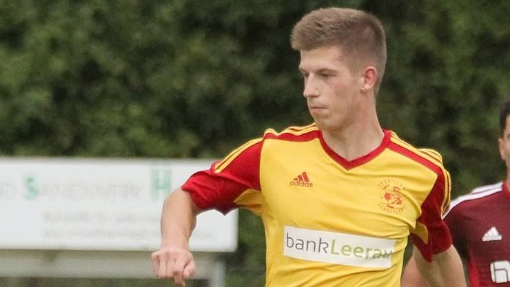 Dominic Siegenthaler will mit dem SC Schöftland hoch hinaus.