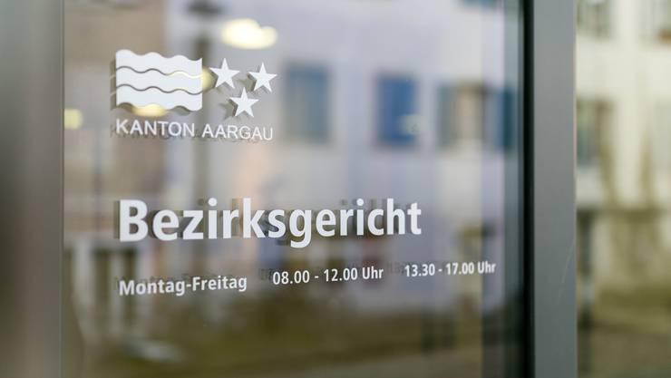 Aufnahmen vom Bezirksgericht in Brugg AG. Fotografiert am 20. Dezember 2018.
