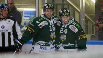 Eishockey, Swiss League, 13. Runde,  EHC Olten - EHC Winterthur (18. Oktober 2019)