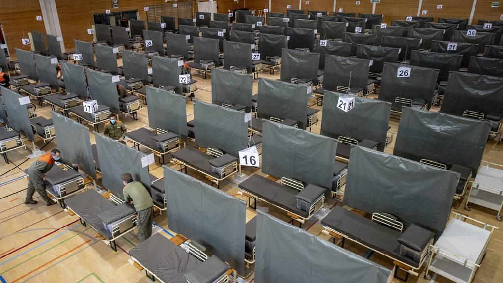 Zentralschweizer Spitäler rüsten auf für mögliche Krise