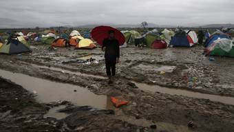 Flüchtlingslager Idomeni