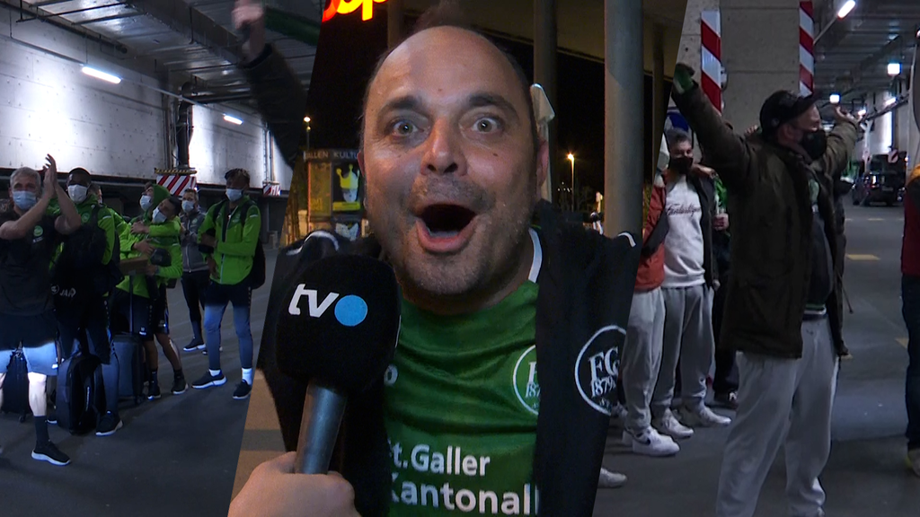 Fan-Empfang für die Cupfinalisten: «Dieses Team kann alles erreichen»