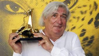"""Im Jahr 2012 gewann der französische Regisseur Jean-Claude Brisseau für """"La fille de nulle part"""" (Das Mädchen von Nirgendwo) auf dem Filmfestival von Locarno den Goldenen Leoparden. Nun ist er 74-jährig verstorben. (Archivbild)"""
