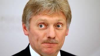 Putin-Sprecher Dimitri Peskow liess verlauten, die Rückgabe der Krim stehe nicht zur Debatte.