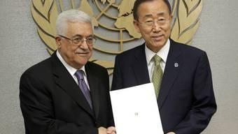 Abbas überreicht Ban das UNO-Beitrittsgesuch