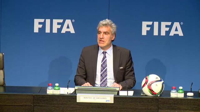 FIFA-Pressekonferenz Hauptsitz Zürich