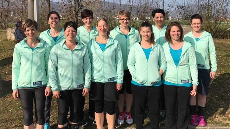Netzballerinnen des KTV Laupersdorf