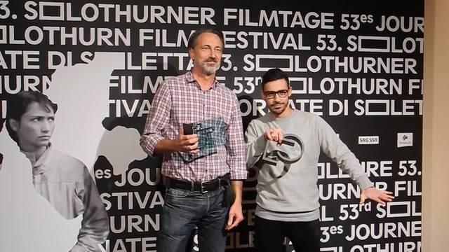 Karim Sayad und Bernard Weber heissen die Sieger der beiden Wettbewerbe der 53. Solothurner Filmtage