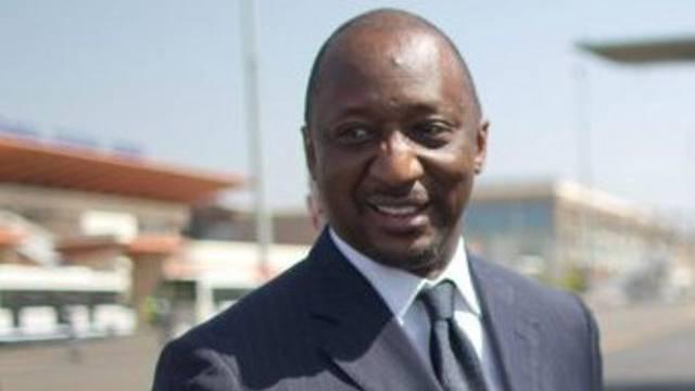 Neuer und alter malischer Aussenminister Tiéman Coulibaly (Archivbild)