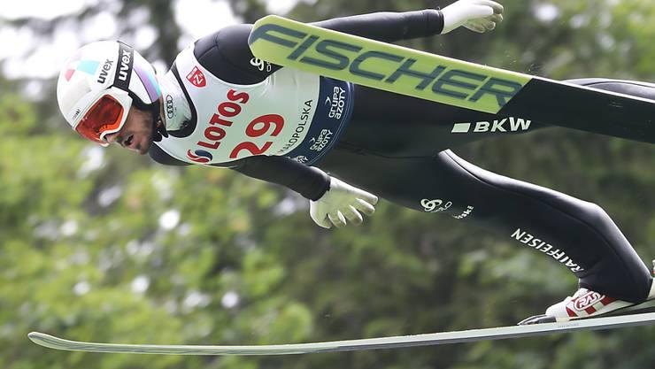 Im Vierten Jahr in Folge der beste Schweizer Skispringer: Killian Peier