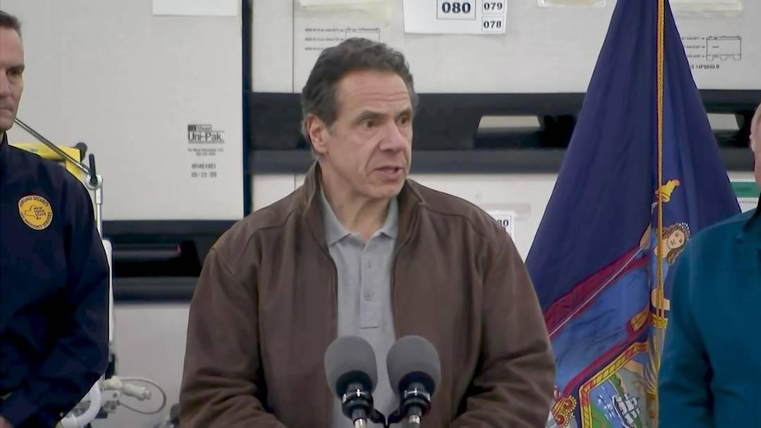 New York: 9'000 Infizierte, 100 Tote - Kongresszentrum wird in Spital verwandelt