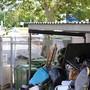 Bis zu 30 Prozent mehr Abfall wurde in Spreitenbach in den letzten Wochen gesammelt. So sah es gestern an vielen Orten aus.
