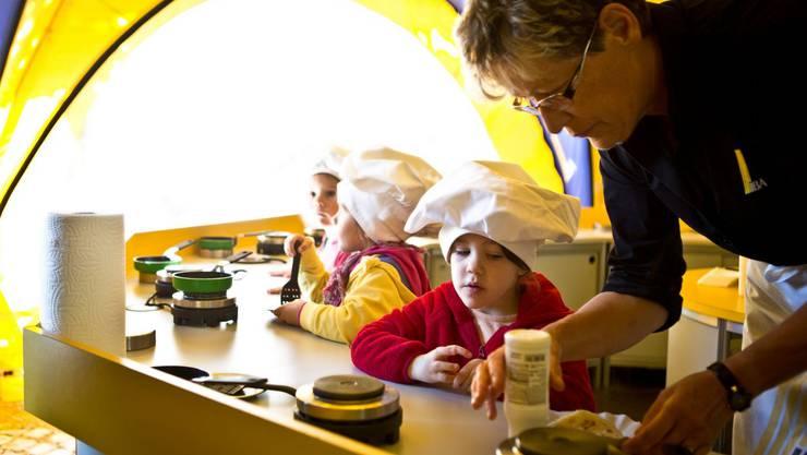 Beliebt an der MAG: Die Omeletten der IBAarau
