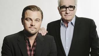 Dreamteam der Hollywood-Riege: Leonardo DiCaprio (links) und Martin Scorsese sind mit einem neuen gemeinsamen Filmprojekt am Start. (Archivbild)