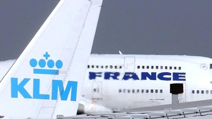 Die Air France-KLM-Gruppe hat im zweiten Quartal deutlich zugelegt. (Archivbild)