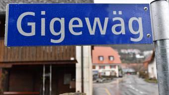 Blick ins Dorf: Neu sind die Hausnummern in Oberbuchsiten an die Strassen gebunden.