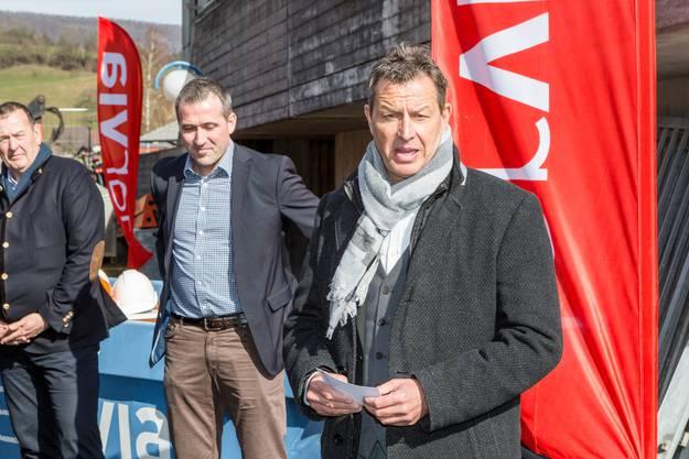 Im Bild: Christian Koch, Leiter Sport beim Departement Bildung, Kultur und Sport.