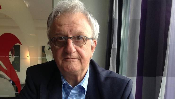 Rolf Büttiker wird kommenden Monat Rentner, zur Ruhe setzt er sich nicht
