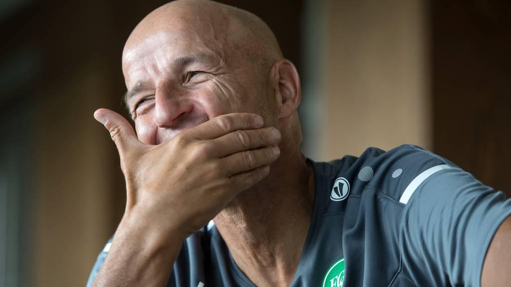Peter Zeidler freut sich auf die Partie gegen Luzern am Sonntag.